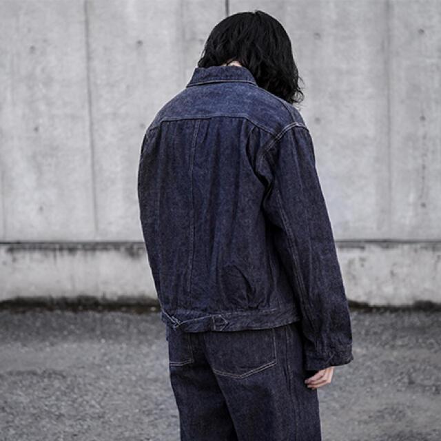COMOLI(コモリ)の21ss comoli コモリ デニム ジャケット メンズのジャケット/アウター(Gジャン/デニムジャケット)の商品写真