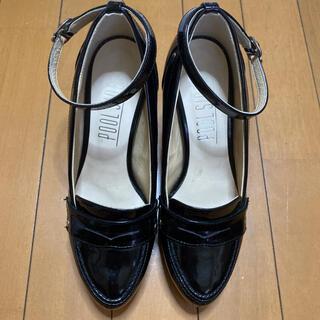 プールサイド(POOL SIDE)のプールサイド ローファー パンプス ヒール(ローファー/革靴)