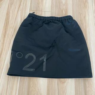 ヌメロヴェントゥーノ(N°21)のレザースカート 36(ミニスカート)