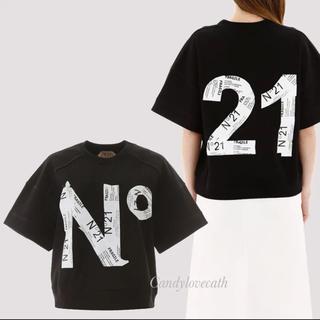 N°21 - グラフィックロゴTシャツ