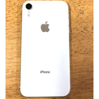 iPhone - iPhoneXR 64G ホワイト SIMロック解除済み