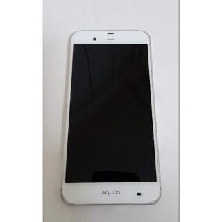 アクオス(AQUOS)のAQUOS Xx3 506sh White 32GB Softbank ジャンク(スマートフォン本体)