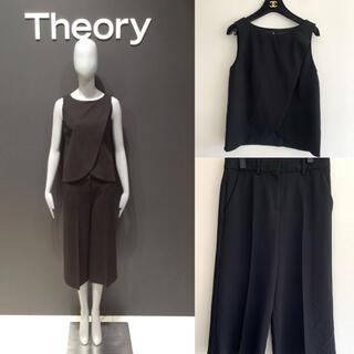 セオリー(theory)の定価約6万円 セオリー カットソー パンツ セットアップ(セット/コーデ)
