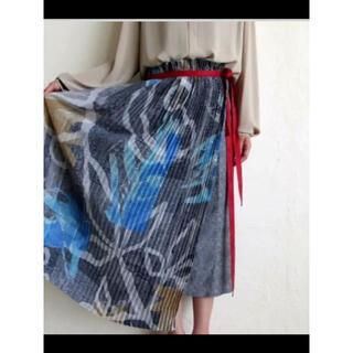 オータ(ohta)のohta ラップスカート 巻きスカート(ひざ丈スカート)