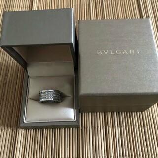 BVLGARI - ブルガリ 研磨済み ビーゼロワン リング