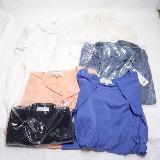 ロペピクニック(Rope' Picnic)の■UNIQLO.. シャツ/Tシャツ 9点セット レディース38/メンズSサイズ(Tシャツ(半袖/袖なし))