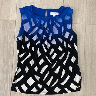 カルバンクライン(Calvin Klein)のカルバンクライン キレイめカットソー(カットソー(半袖/袖なし))