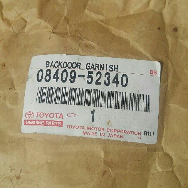 TOYOTA アクア パーツ 自動車/バイクの自動車(車種別パーツ)の商品写真