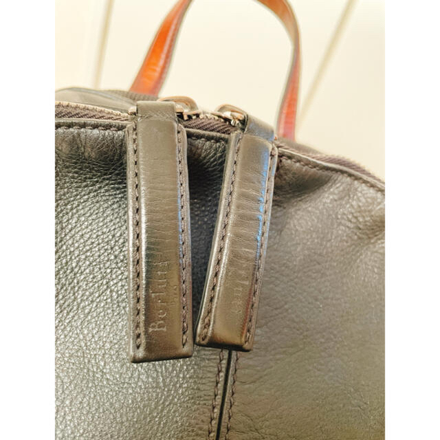 Berluti(ベルルッティ)の定価46.6万円 ベルルッティ BERLUTI ボリュームレザーバックパック メンズのバッグ(バッグパック/リュック)の商品写真