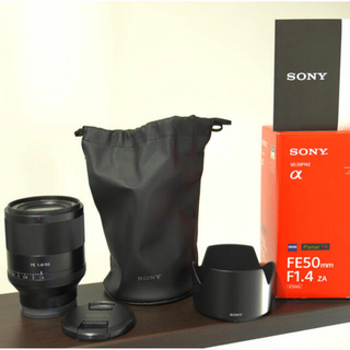SONY - 最終値下 sel50f14z FE 50mm f1.4 ソニー sony