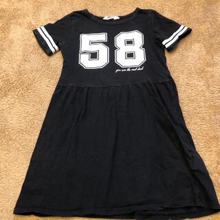 エイチアンドエム(H&M)のH&M Tシャツ ワンピース 135 140(ワンピース)