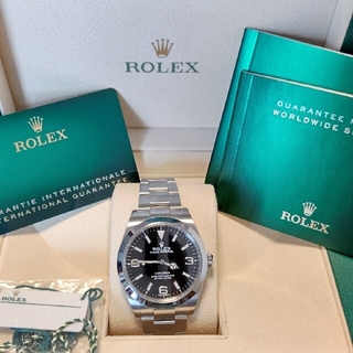 ROLEX - 【新ギャラ】ロレックス エクスプローラー1 214270 美品