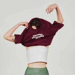 フィーニー(PHEENY)のpheeny ロゴTシャツ(Tシャツ(半袖/袖なし))