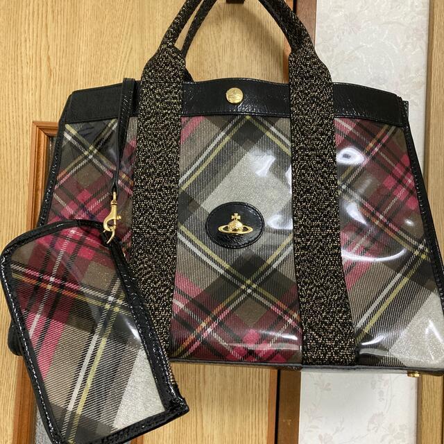 Vivienne Westwood(ヴィヴィアンウエストウッド)の☆GW特価☆【ヴィヴィアン】ビニールトートバッグ レディースのバッグ(トートバッグ)の商品写真