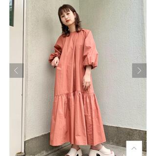 Kastane - 新作‼️新品配色ステッチバルーン袖ワンピース
