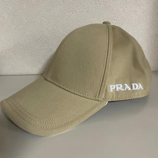 PRADA - 新品同様 プラダ M ベースボール ロゴ キャップ