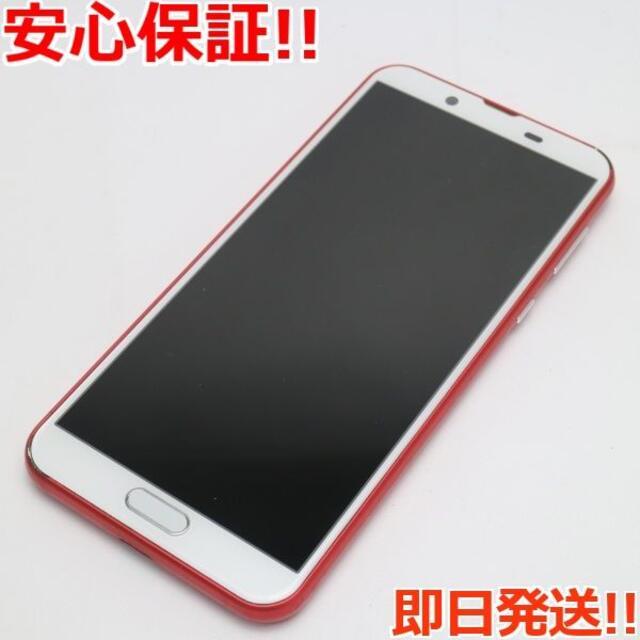 SHARP(シャープ)の美品 SH-M08 AQUOS sense2 カーディナルレッド  スマホ/家電/カメラのスマートフォン/携帯電話(スマートフォン本体)の商品写真