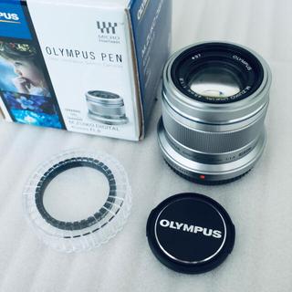 OLYMPUS - 極美品 オリンパス M.ZUIKO 45mm f1.8 シルバー 単焦点 おまけ