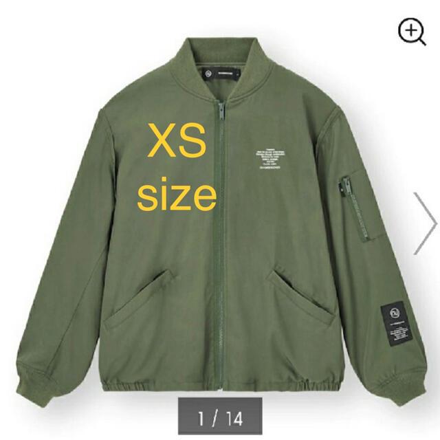 GU(ジーユー)のオンライン限定GU×UNDERCOVER ジップアップブルゾンXS メンズのジャケット/アウター(ブルゾン)の商品写真