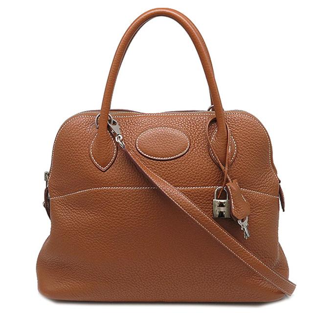 Hermes(エルメス)のエルメス  2WAYバッグ  ボリード31  □Q刻印 ブラウン レディースのバッグ(ハンドバッグ)の商品写真