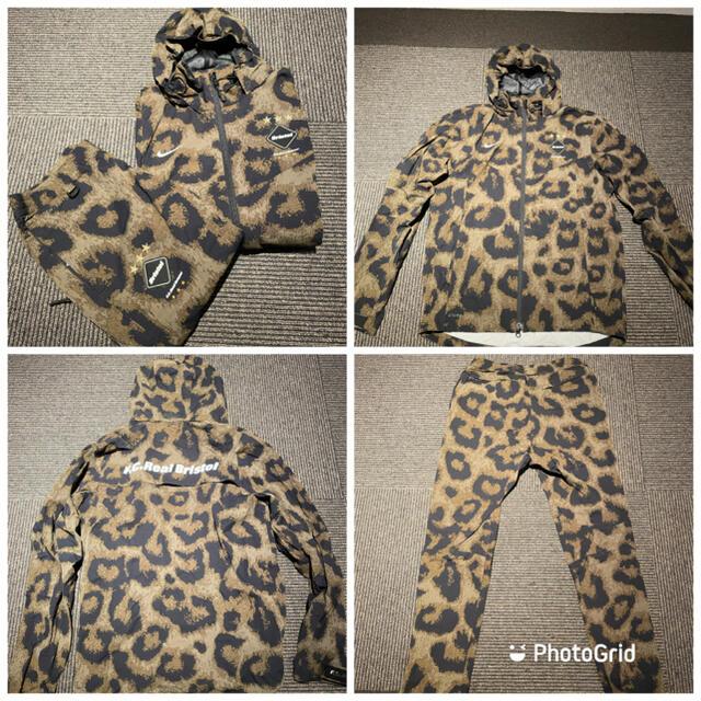 F.C.R.B.(エフシーアールビー)のNIKE FCRB セットアップ Sサイズ メンズのジャケット/アウター(ナイロンジャケット)の商品写真