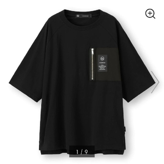 UNDERCOVER - Lサイズ GU×UNDERCOVER スーパービッグジップポケットT(5分袖)