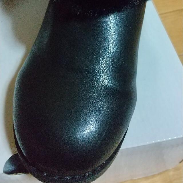 ANNA SUI mini(アナスイミニ)の12時まで!アナスイミニ★ファーブーツ キッズ/ベビー/マタニティのキッズ靴/シューズ(15cm~)(ブーツ)の商品写真