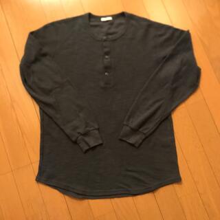 ジーユー(GU)のロンT トップス 美品(Tシャツ/カットソー(七分/長袖))