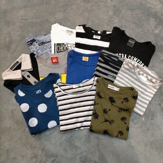 UNIQLO - 男児 Tシャツ まとめ売り 100cm