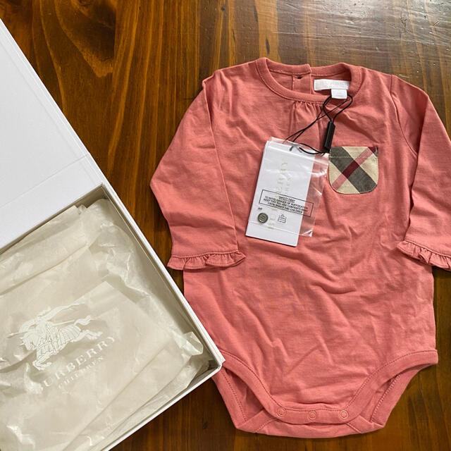 BURBERRY(バーバリー)の新品タグ付 バーバリー❤︎セット キッズ/ベビー/マタニティのベビー服(~85cm)(ロンパース)の商品写真