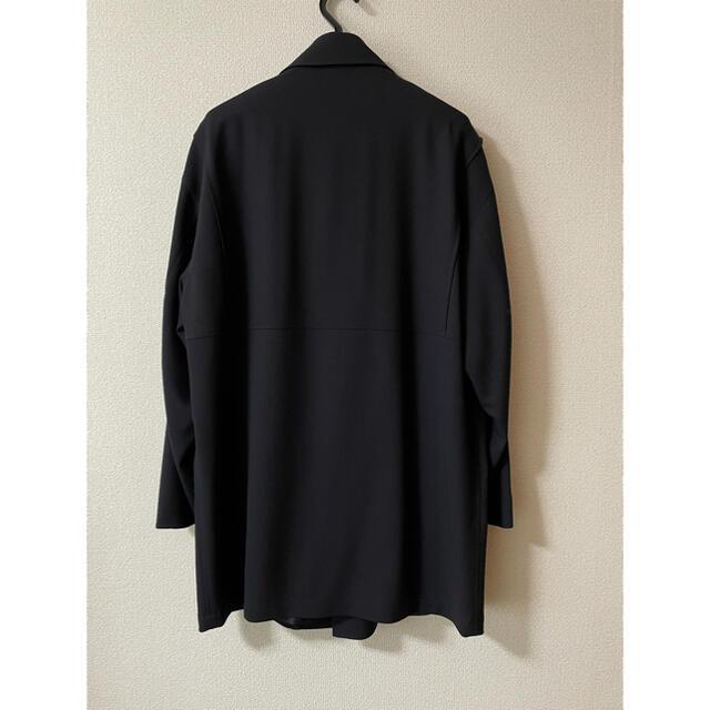 AURALEE オーラリー◆新品 ハード ツイスト   ウール  ハーフコート  メンズのジャケット/アウター(ステンカラーコート)の商品写真