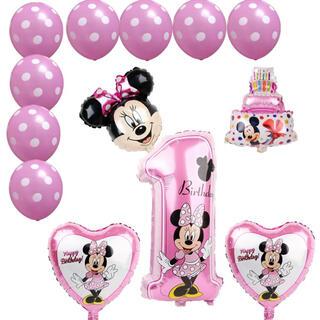 Disney - ミニーちゃん ミニー バルーン 風船 誕生日 パーティー 装飾