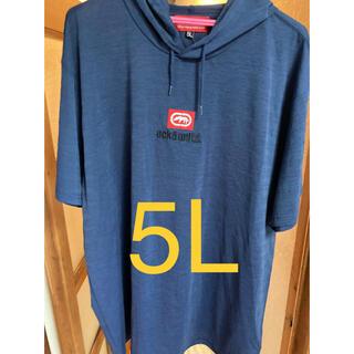エコーアンリミテッド(ECKO UNLTD)のエコーアンリミテッド 半袖Tシャツパーカー 5L(Tシャツ/カットソー(半袖/袖なし))