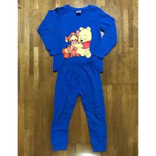 Disney - 子供 キッズ パジャマ 長袖 110  プーさん