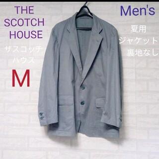 THE SCOTCH HOUSE - THE SCOTCH HOUSE(ザスコッチハウス)Men's夏用ジャケット