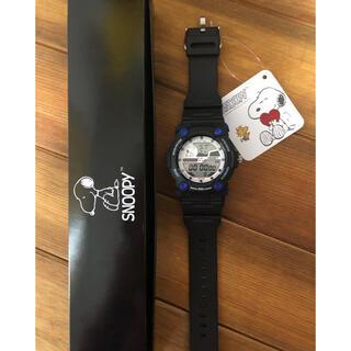 スヌーピー(SNOOPY)のスヌーピー  デジタル時計(防水)(腕時計)
