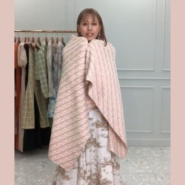 eimy istoire(エイミーイストワール)のeimy istoire ノベルティ ブランケット ピンク レディースのファッション小物(その他)の商品写真