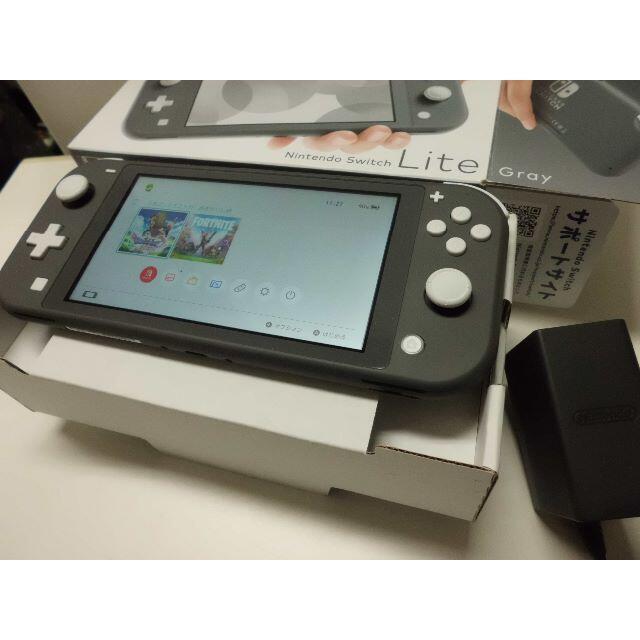 Nintendo Switch(ニンテンドースイッチ)のNintendo Switch Lite エンタメ/ホビーのゲームソフト/ゲーム機本体(携帯用ゲーム機本体)の商品写真