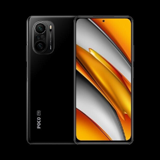 新品未開封Xiaomi POCO F3 5G  6GB 128GB 黒 ブラック スマホ/家電/カメラのスマートフォン/携帯電話(スマートフォン本体)の商品写真
