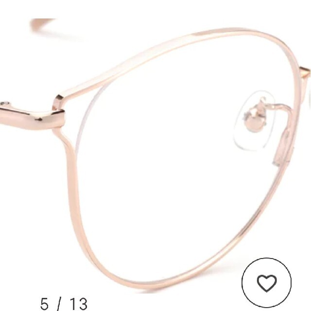 JINS(ジンズ)のJINS イガリシノブ コラボ  フェロっぽりん ピンク 本日即決500円オフ レディースのファッション小物(サングラス/メガネ)の商品写真