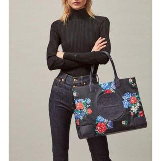 Tory Burch - 新品!日本完売!正規品トリーバーチ/軽い!お花とロゴのトートバッグ