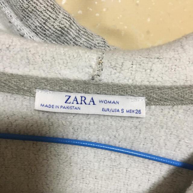 ZARA(ザラ)のZARA パーカー 新品 レディースのトップス(パーカー)の商品写真