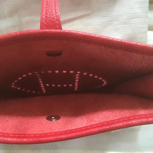 Hermes(エルメス)のエルメス エヴリンTPM ルージュカザック 本体のみ シルバー金具 国内購入品 レディースのバッグ(ショルダーバッグ)の商品写真