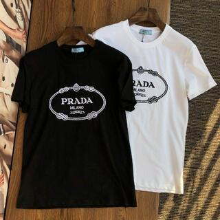PRADA - 0444PRADA プラダ Tシャツメンズレディース兼用2枚8000円半袖