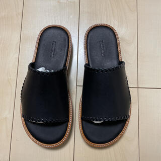 DAIRIKU Wyatt Hand Stitch Leather Sandal