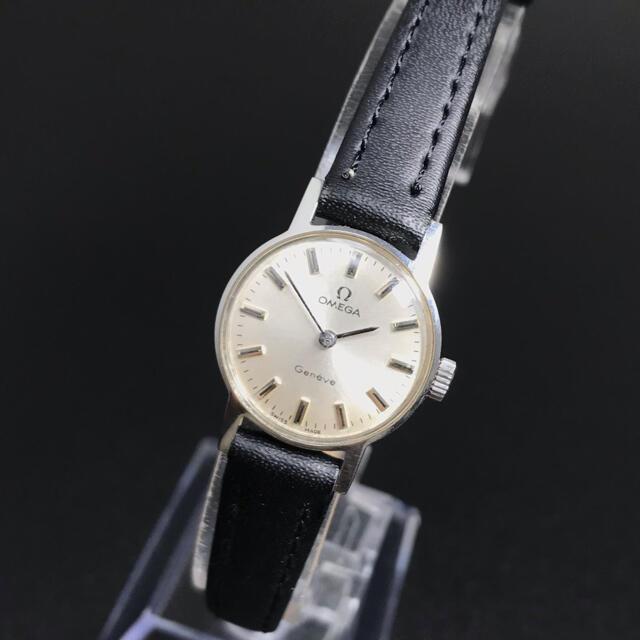 OMEGA(オメガ)の【良品 稼働品】オメガ 腕時計 ジュネーブ 手巻き レディース 確実正規品 レディースのファッション小物(腕時計)の商品写真