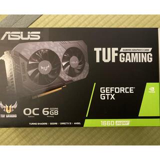 エイスース(ASUS)のasus GEFORCE GTX 1660super(PCパーツ)