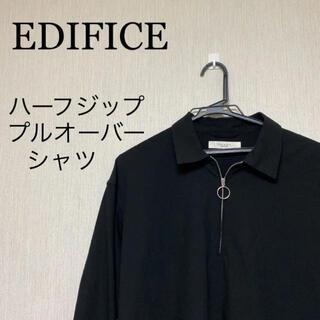 エディフィス(EDIFICE)のエディフィス ハーフジッププルオーバーシャツ(シャツ)