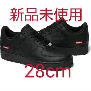 シュプリーム(Supreme)のSupreme Nike Air Force 1 black 28cm(スニーカー)