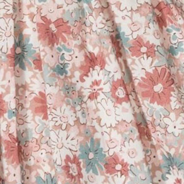 Bonpoint(ボンポワン)のbonpoint スモッキング  ドレス 3a  リバティ フラワー キッズ/ベビー/マタニティのキッズ服女の子用(90cm~)(ワンピース)の商品写真